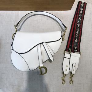 باليد حقائب أزياء سيدة السرج PU الجلود حدوة الحصان الإبزيم حزام الكتف الكتف واحدة حقائب المائل التطريز