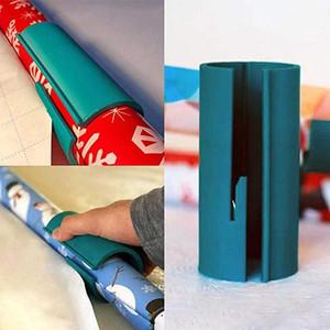 Упаковочная бумага резак Рождественский подарок упаковка резки раздвижные резаки рулон бумаги легко и весело стикер бумаги вырезать ABS материал