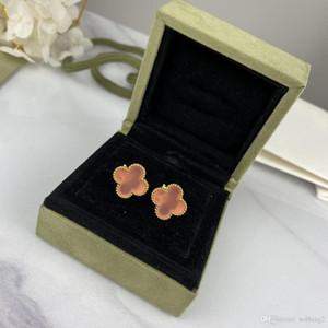 Designer Earrings Women Jewelry S925 Silver Plated 5A Women Clover Earrings Women Party Earrings Free Shipping