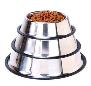 Чаша для собак из нержавеющей стали Powl Pet Bowl для кошек и маленьких собак, кормящихся для кормовой воды Home Outdoor Garden