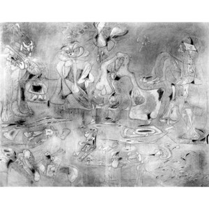 Abstract paintings Summation Arshile Gorky artwork for office wall decor large canvas hand painted