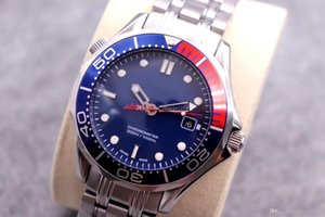 Wholesale new fashion mens watch 41mm blue dail stainless steel belt designer watches top quality automatic movement wathces luxury watch