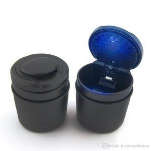 Car Cendrier avec LED bleue de sortie de capot peut être équipé Cendrier standard voiture pour voiture véhicule automobile Voyage Cigarette Ash Porte-gobelet