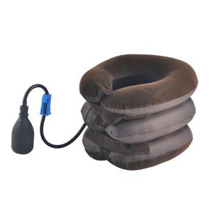 Nuovo Air Bag Trattore Cervicale Collo Vertebra Trazione Morbido Dispositivo di Massaggiatore Massaggiatore Cura del Corpo Massaggiatore Collo Vertebra con Borsa OPP