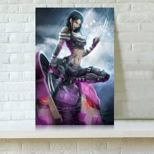 HD Printed Film-Poster Ölgemälde Ausgangsdekoration-Wand-Kunst auf Leinwand Ashen Phoenix Unframed
