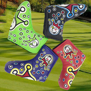 2020 Nouvelle Golf Headcovers Qualité novetly Golf Putter Cover Custom Design Golf Headcover Blade Putter Head Broder Headcovers
