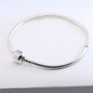 Nouveau serpent classique chaîne osseuse pour Pandora 925 Mode Sterling Silver Bijoux Tendances Glamour femme avec livraison gratuite