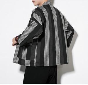 Moda Chinês Kimono Cardigan Homens Traje De Linho De Algodão Kimono Cardigan Homens Kung Fu Kimono Jaqueta Homens Han Roupas Plus Size Frete Grátis