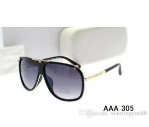 Hot Women Sunglasses Designer lunettes de soleil Vintage Mens Brand Designer Gold Cadre Lunettes de Soleil Femmes Top Qualité