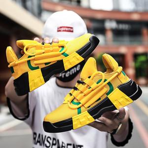 Die neuen 2019 Sommer Web Celebrity koreanischen Trend vielseitige Harajuku Schuhe mit Plattform Sportswear Schuhe Größe 39-45