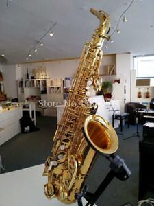 Livraison gratuite Jupiter JAS-767-II Alto Eb Saxophone Tune Brass VERNI Instruments de musique de haute qualité E-plat Sax Avec Embouchure