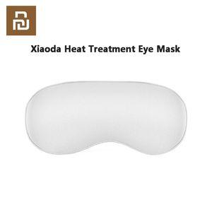 Xiaoda Isıl İşlem Göz İpek Kumaş Hızlı Isıtma Üç vitesli Sıcaklık Kontrolü Yorgunluk İçin Uyku Travel rahatlatmak Maske