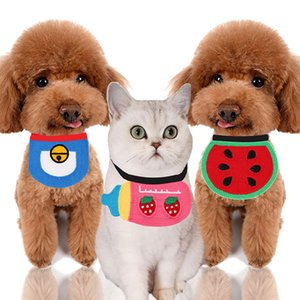 Colorido Toalha Dog Cat Saliva Para Cães Decoração azul Patinho coreana malha Pet acessório do casamento (12pcs / lot)