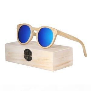 BerWer New fashion Men women Glasses Bambu Óculos Óculos De Sol Retro Lentes de madeira Vintage Óculos De Madeira Molduras De Madeira Óculos De Sol Feitos À Mão