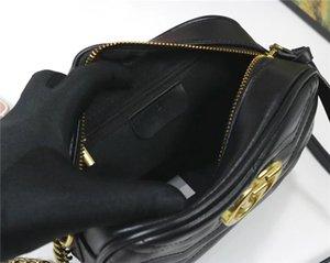 2020 Hot Sale High Quality New Women Handbags Gold Chain Shoulder Bags Crossbody Soho Bag Disco Messenger Bag Purse Wallet 5 colors