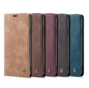 design di lusso in pelle raccoglitore del telefono Case for iPhone 11 PRO X XR XS MAX 7 8 Back Cover per Samsung Galaxy Note 9 10 S9 S8 S8 S10 Huawei p30