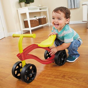4 Wheels Children's Push Scooter Balance Bike Walker Infant Scooter Bicycle for Kids Outdoor Ride on Toys Cars Wear Resistant