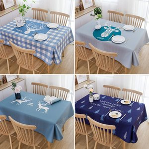 Manufacturer direct sales Scandinavian ins popular home tablecloth net red waterproof tarpaulin tablecloth home decoration customization