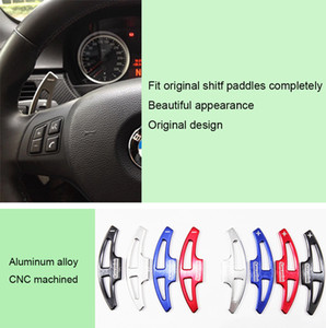 2pcs High Quality Car Steering Wheel Shift Paddle Shifter Extension For BMW M3 2009-2013