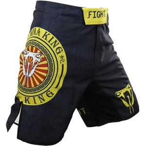 Muay Thai Shorts Mens Pants Kick Boxing Shorts Motion Clothing Cotton Loose Size Training Kickboxing