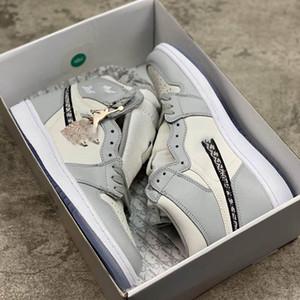 2020 Resmen ortaya yıldönümü işbirliği Gri Beyaz Fransız moda stil etiketi Kim Jones Sneaker ayakkabı size36-46