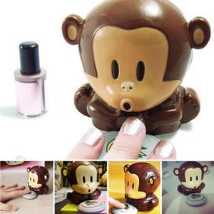 Netter Affe-Maniküre-Nagel-Trockner Polnisch-Gebläse-Trockner Nails Nail Art Trockner Finger Toe Schnell trocknende Trocken Machine Tool RRA2553