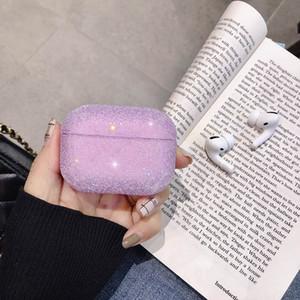 Vente chaude cristal de diamant Case Brillante Glistening Bingbing pour AirPod Pour Apple Airpods1 / 2 Protecteur Pour AirPod couverture pro