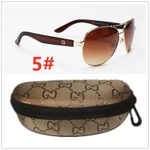 Wholesale High quality Luxurious Big G Sunglasses fr men and women driving beach Holiday Gu̴cci sun glasses Gūcci With box 402