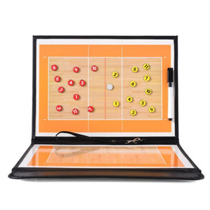 Wholesale Volleyball Tactical Board Soccer Coach Strategy Board Tactics Boards Coaching Board Luxury Version Free Shipping