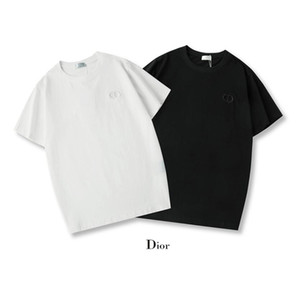패션 남성 인쇄 반팔 2020 여름 유행 여성 T 셔츠 도매 GG 디올 CD 남성 디자이너 T 셔츠 럭셔리 곰 패턴 티셔츠