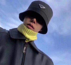 Progettista delle donne di modo del Mens Cappello Barrel Cappello Womens Casual Wear Cappello di alta qualità 6 colori Tide Marca hip-hop stile selvaggio Ombra Uomo