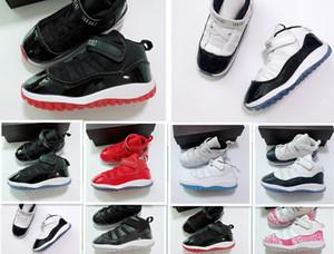 Дети 11 11s Баскетбольная Обувь для Мальчиков Спортивные Девушки Спорт На Открытом Воздухе Обучение Ребенку Дети Chaussures Подростковая Размер 6c-10c