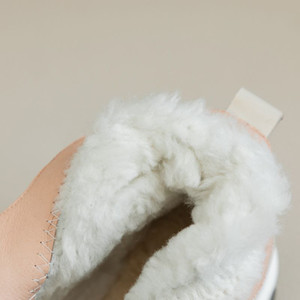 MORAZORA 2020 Nuevo lleno genuina de cuero del tobillo botas de las mujeres de la cremallera de la naturaleza de invierno cálida de lana botas zapatos de las señoras de piel de vaca botas para la nieve