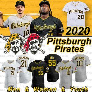Pittsburgh Josh Bell Jersey Roberto Clemente Melky 24 Cabrera Adam Frazier 29 Francisco Cervelli Jameson Taillon 2020 Sezon Formalar