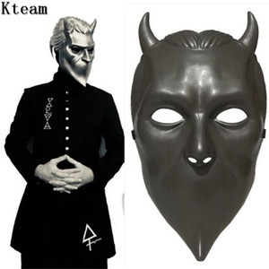 Chaud!!! Ghost BC Rock Roll Band Masque de Cosplay Masque sans nom Costume Ghoul Accessoires Casques Adulte Ghost B.C.