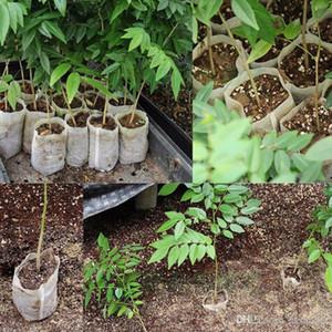 Оптовые Лот Детские Горшки Семенной воспитывающим Сумки Нетканые ткани сада Поставка Seed Grow Сумки