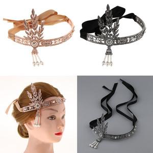 1920s Flapper Headband Grande Gatsby Headpiece Retro Acessório De Cabelo