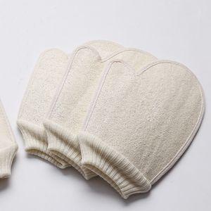Loofah Sponge Bath Gloves Scrubbing Exfoliating Gloves Hammam Scrub Mitt Magic Peeling Gloves Exfoliating Tan Removal Mitt For Body SPA