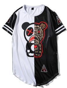 Neues Panda-Kurzarm-T-Shirt Brand Designer T-Shirt mit flachem Hip-Hop-Digitaldruck für Männer und Frauen im Sommer
