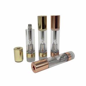 deux couleurs CCS VVS haut de gamme Cartouche Vape 0.8ml huile épaisse Coil céramique 510 vide Chariots Vaporizer Atomiseur DIME Muha Med