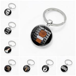 내가 키 버클 블랙 생명을 숨을 못 쉬 핫 판매 시간 보석 키 체인 열쇠 고리 파티 작은 선물 T9I00395 상관