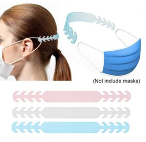 Adjustable Anti-Slip Mask Ear Grips Extension Hook Four Gear Mask Hanging Buckle for Relieving Ear Pain 10Pcs Set FY8018
