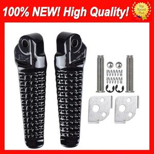 Hot Footrest Rearset Pedals para SUZUKI GSXR 750600 K1 K4 2PJ.4 GSXR600 01 02 03 04 05 GSXR750 2001 2002 2003 2004 2005 Reposapiés Juego trasero
