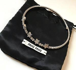 2019 Frühling und Sommer neue fünfzackige Sterne Kristall Halskette voller Diamant Persönlichkeit Klassiker wild