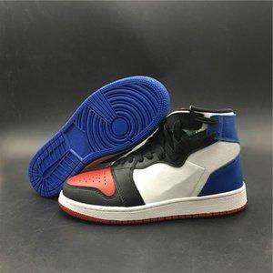 Yeni Geliş REBEL XX OG TOP 3 Basketbol Ayakkabı 1 1s Kırmızı Mavi Spor Ayakkabı Erkek Bayan Tasarımcı Açık Sneakers Sokak Modası Ayakkabı