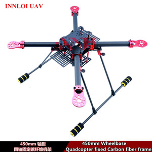 DIY 450mm 4-Axis Carbon Fiber Frame for 4-rotors Quadcopter frame body FPV Frame shell [INNLOI UAV Custom-made UAV Drone ]