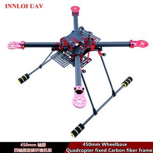إطار من ألياف الكربون ذو محاور 450 مم لـ 450 مم لـ 4-rotors quadcopter frame body FPV frame shell [INNLOI UAV بدون طيار UAV بدون طيار]