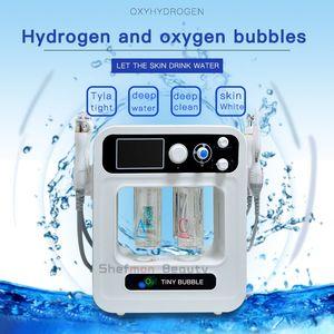 Hydra Facial Machine Вода Кислород Hydro Dermabrasion Косметологическое оборудование BIO Лифтинг лица Скраббер для кожи Глубокая чистка Пилинг кожи