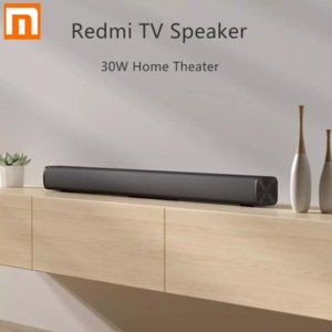 Xiaomi redmi TV Bar Speaker Wired e 30W sem fio Bluetooth 5.0 Início Surround SoundBar estéreo para PC Teatro Aux 3,5 milímetros