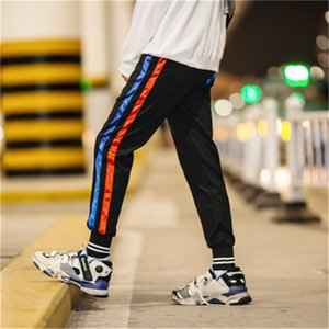 Men's Pants 2021 Mens Joggers Casual Fitness Sportswear Tracksuit Bottoms Skinny Sweatpants Trousers Black Gyms Jogger Track
